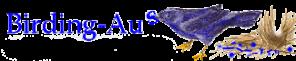 Birding-Aus logo by Katie Bertsch © 1996